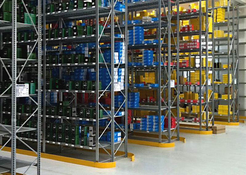 Scaffalature modulari percarichi leggeri | Metalsistem Marche