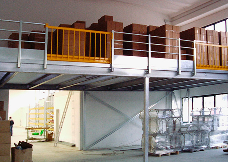 Soppalco carpenteria| Metalsistem Marche